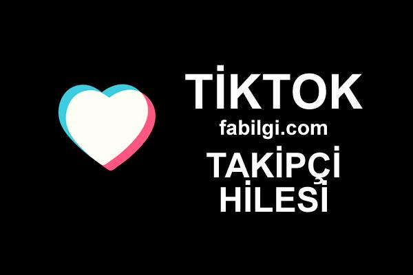 TikTok TikTop Uygulaması Takipçi Hilesi Apk Bedava Android