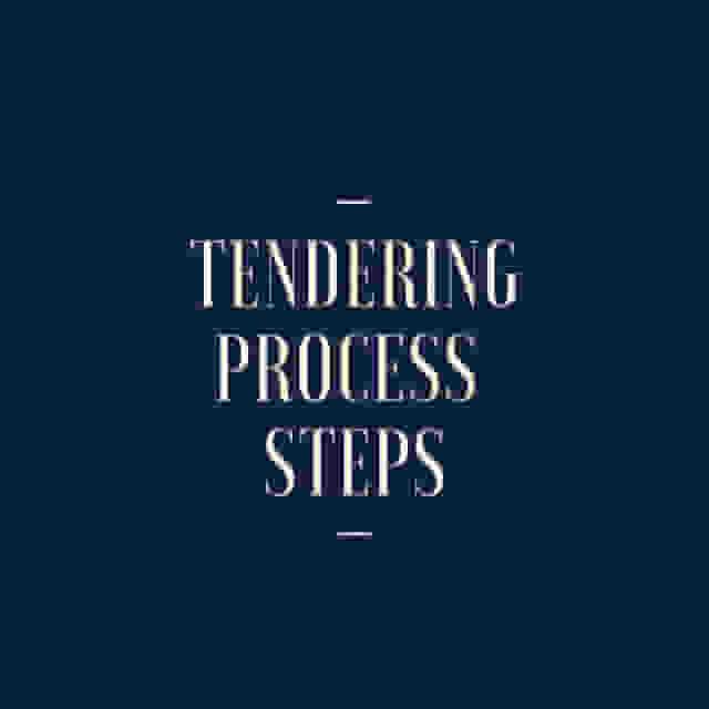 Tendering Process Steps