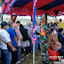 Vaksinasi Maritim di Mentawai, Koramil  Sikakap Bersama Masyarakat Sambut Kedatangan KRI Bontang-907