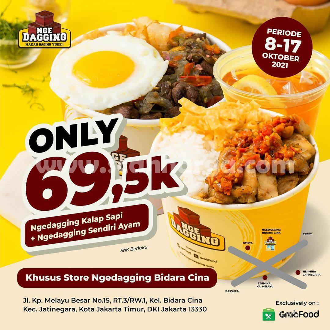 Promo Ngedagging Kalap Sapi + Ayam Harga Cuma Rp.69.500++