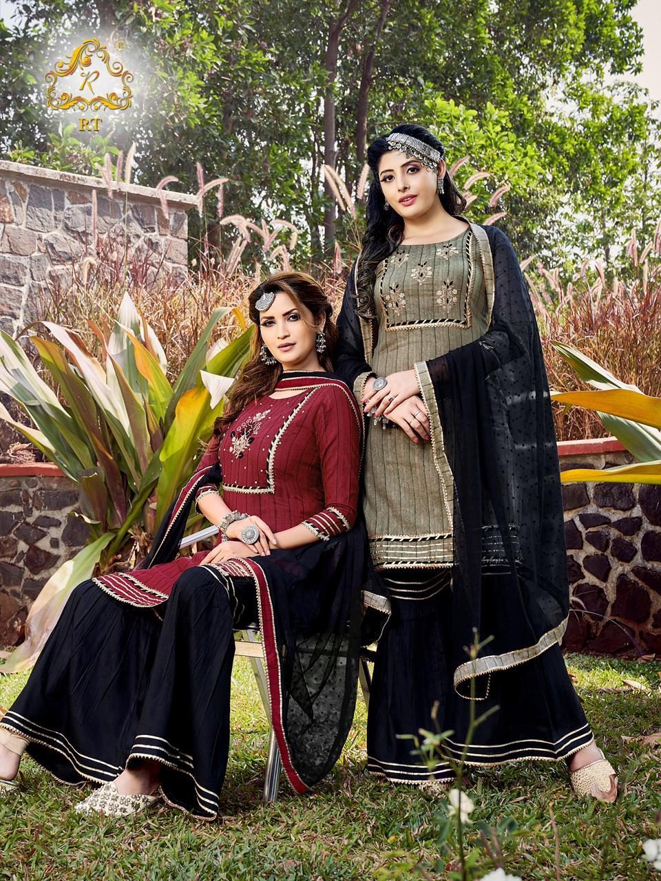 Rijiya Trends Tjori Vol 2 Readymade Salwar Suits Catalog Lowest Price