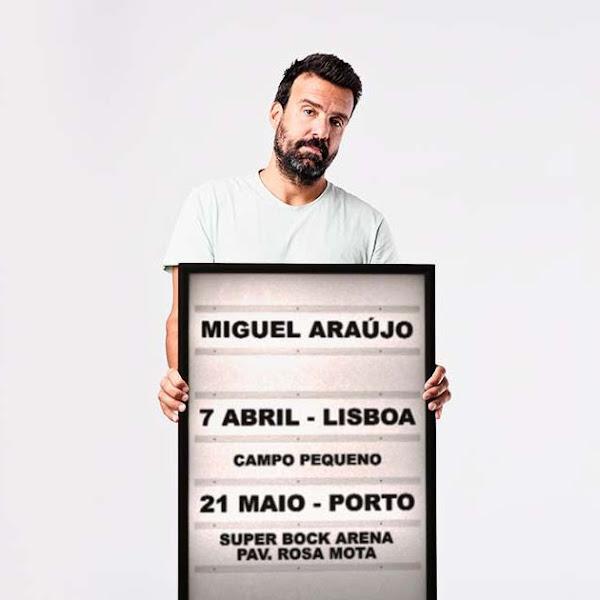 MIGUEL ARAÚJO COM CONCERTOS EM NOME PRÓPRIO EM 2022