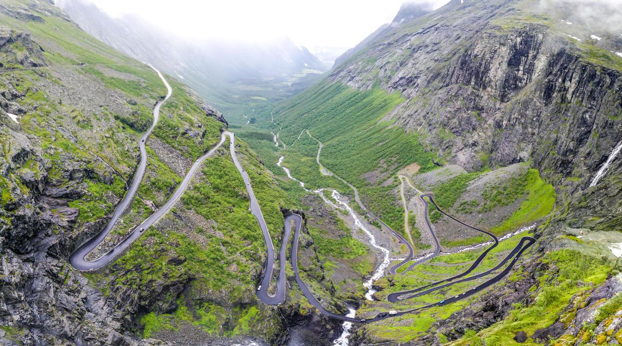 Троллстигенсая дорога, Долины Норвегии. Ромсдал