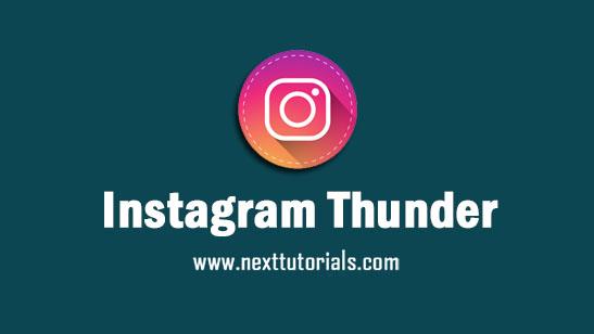 Instagram Thunder v3.0 Apk Mod Latest Version Android,Install Aplikasi Insta thunder Mod Dark Mode Terbaru 2021,instander update,instaaero,instaultra,instamod