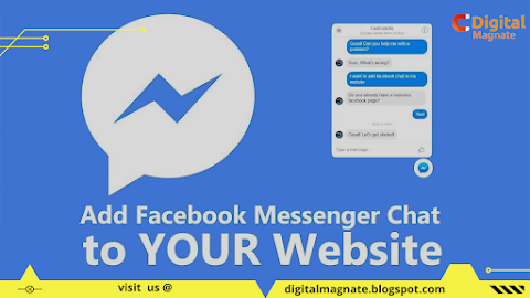 How To Install Facebook Chat messenger into Your Website