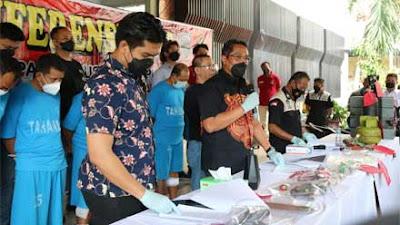 Bobol ATM di Empat Lokasi, Komplotan Lintas Provinsi Ini Dibekuk Polda Jateng