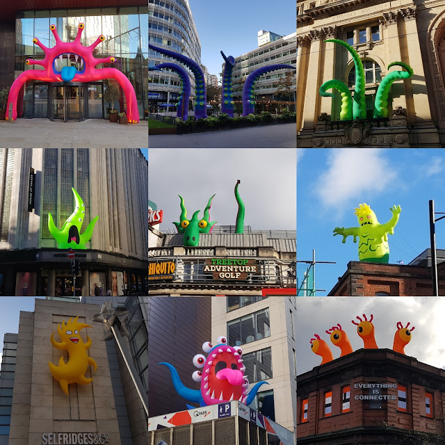 Halloween in the City Manchester Monsters in 2019
