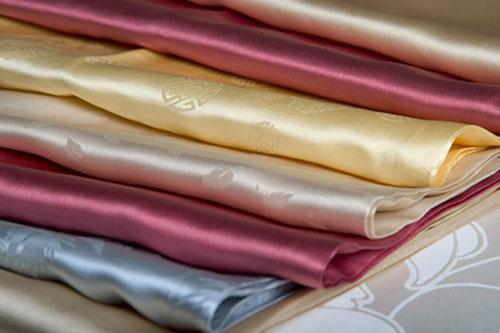 Chất Vải Lụa tơ tằm