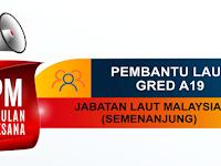 Jawatan Kosong di Jabatan Laut Malaysia - Kelayakan SPM