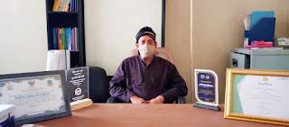 Kepala Desa Wanaraja, Yudi Hazam Gumilar Sukseskan Vaksinisasi Covid-19