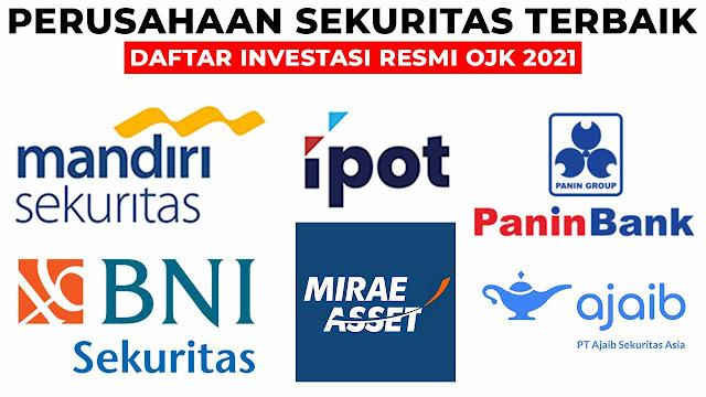 daftar investasi resmi ojk 2021