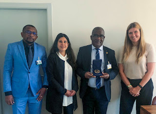 Genève : Le Ministre Dhulkamal a reçu la visite de l'ONG ICAN Prix Nobel de la Paix de 2017