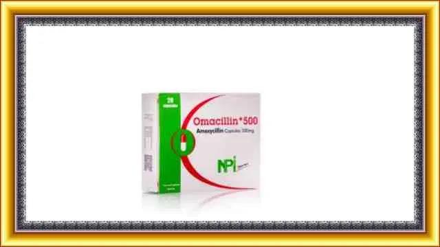 مضاد اوماسيلين وحبوب منع الحمل
