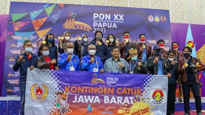 Jabar Perkasa di Catur Standart, Papua Dapat Tiga Medali