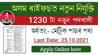 Assam Rifles Technical & Tradesman Recruitment Rally 2021-22: