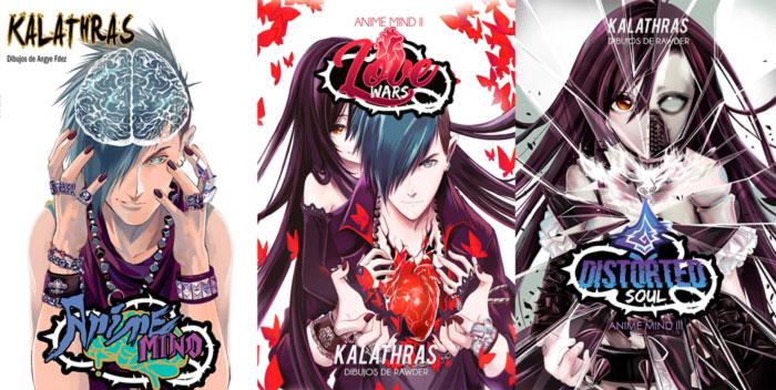 Anime Mind manga - Eric Cuaresma (Kalathras), Angye Fernandez y Rawder