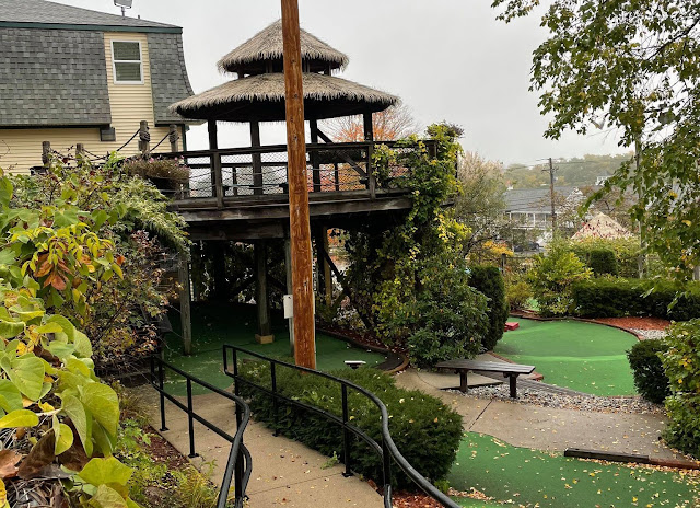 Mini Golf at UberBlast in North Conway, New Hampshire, USA. Photo by Christopher Gottfried, October 2021