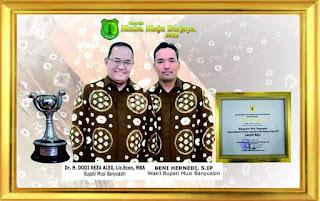Capaian Tertinggi di Sumsel dan Ketiga di Indonesia, Pemkab Muba Raih APE Tingkat Madya