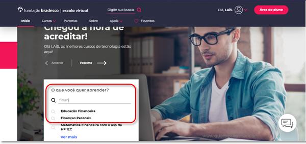 Curso Online de Finanças Pessoais GRATUITO Com Certificado de Conclusão Fundação Bradesco
