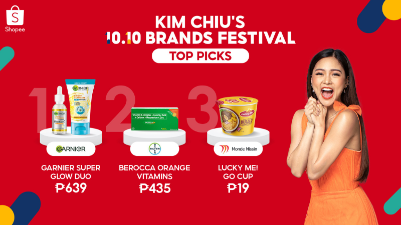 Patty Villegas - The Lifestyle Wanderer - Shopee - 10-10 - Brands Festival - Sale - Itzy - Kim Chiu - Shopeepay