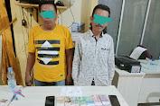 Sat Reskrim Polres Kuansing Tangkap Pelaku Judi Togel Online.