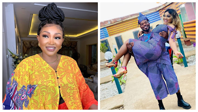 I can't hide it anymore– Mercy Aigbe shows off D'owner