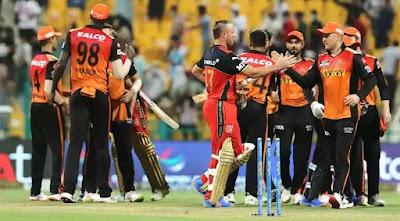 Cricket Highlights – RCB vs SRH 52nd Match IPL 2021