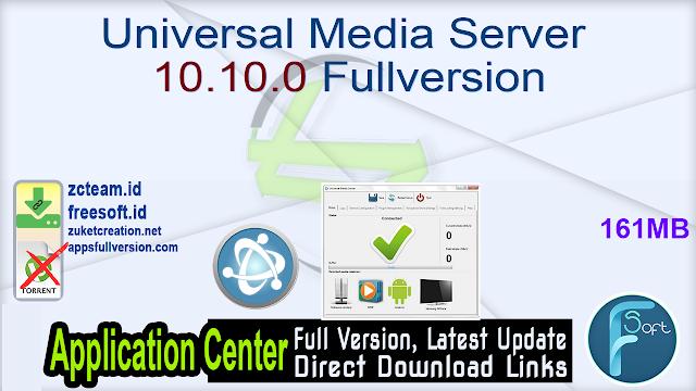 Universal Media Server 10.10.0 Fullversion