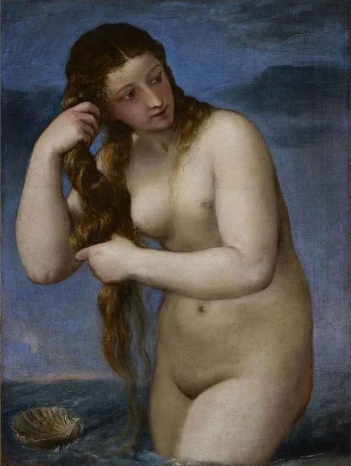 Венера, поднимающаяся из моря