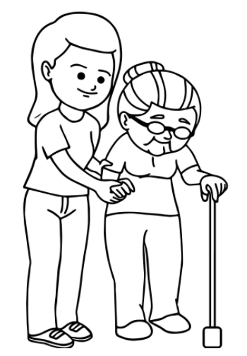 Free Kindness Coloring Pages Pdf to Print