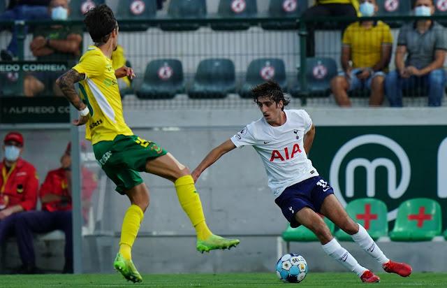 هدف فوز باكوس دي فيريرا على توتنهام (1-0) دوري المؤتمر الأوروبي