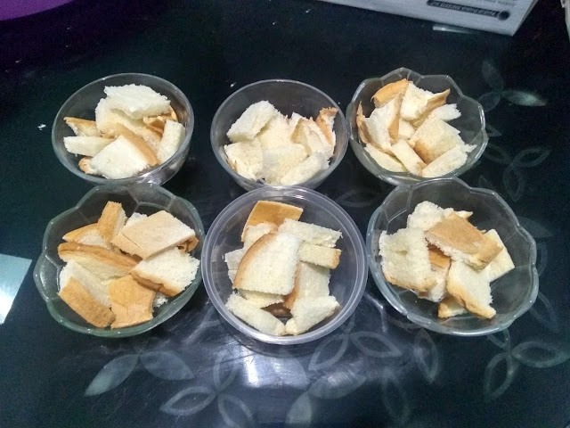 cara bikin pudding roti tawar