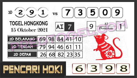 Prediksi Pencari Hoki Group Hk Jumat 15-Okt-2021