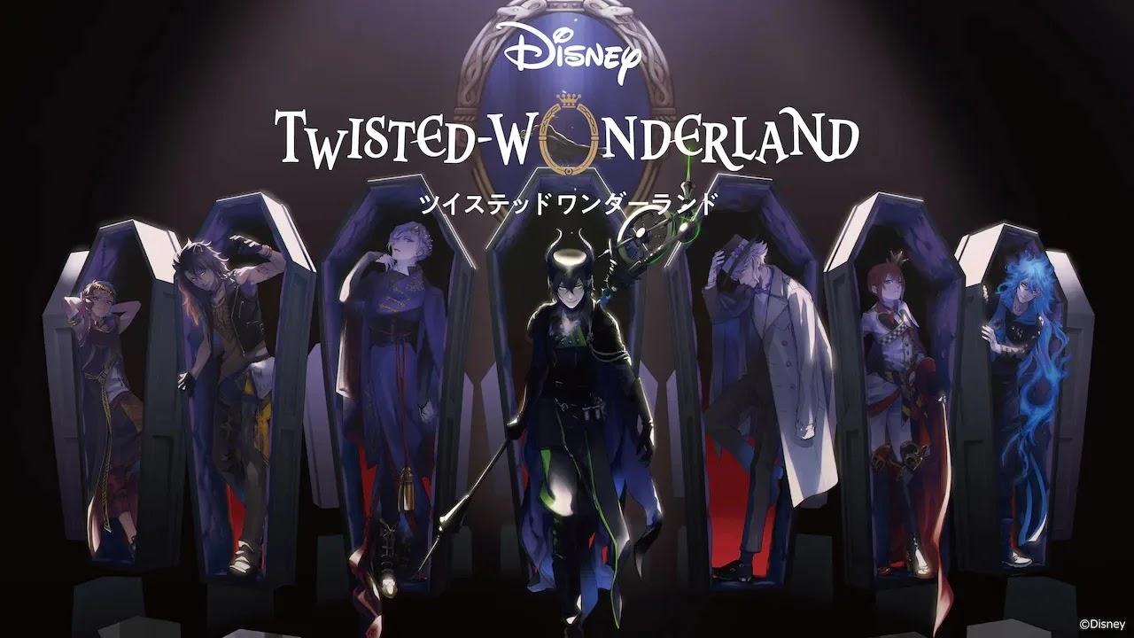 Disney Plus anuncia adaptação para Anime do Jogo Disney Twisted-Wonderland
