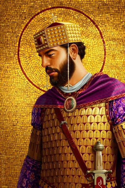 Young Basil II byzantium.filminspector.com