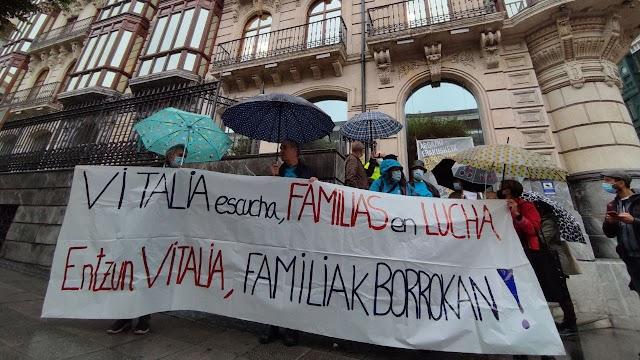 Familiares de la residencia Vitalia denuncian ante las Juntas la ausencia de medidas forales de  inspección
