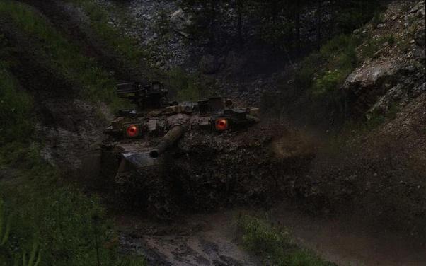 mắt trên xe Tank Nga