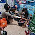 Kapolsek Tanjung Duren Jakarta Barat Kompol Rosana Albertina Labobar Santuni Anak Yatim Korban Covid-19