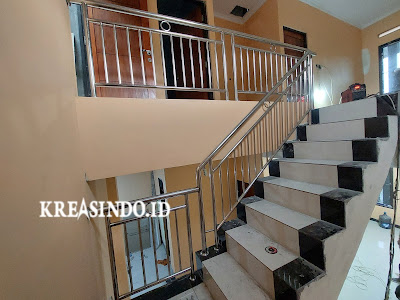Railing Balkon Stainless Pesanan Bpk Yusrizal di Bojong Gede Bogor