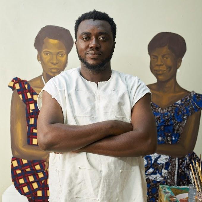 MARUANI MERCIER Gallery is representing Ghanaian artist Cornelius Annor in Europe