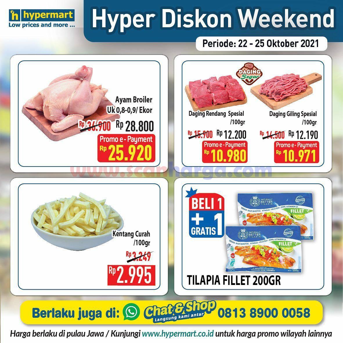 Promo Hypermart Weekend Terbaru 22 - 25 Oktober 2021 3