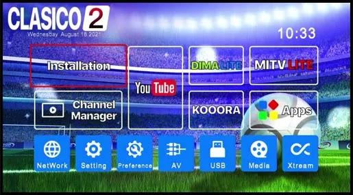 Echolink Clasico 2 menu