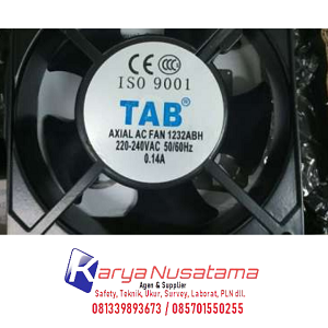 Jual Axial Blower Fan & Accessoris TAB Type XF1232ABH di Padang
