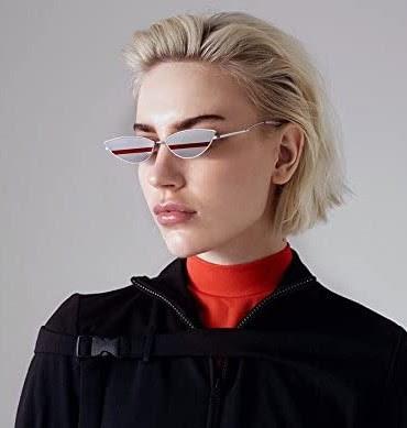 Rare Retro Vintage Cat Eye Sunglasses For Women