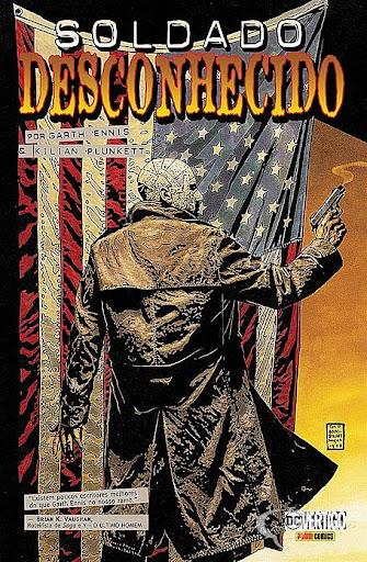 Soldado Desconhecido - o Homem da Guerra de Garth Ennis na DC
