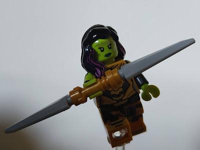 Lego Marvel Studios Gamora