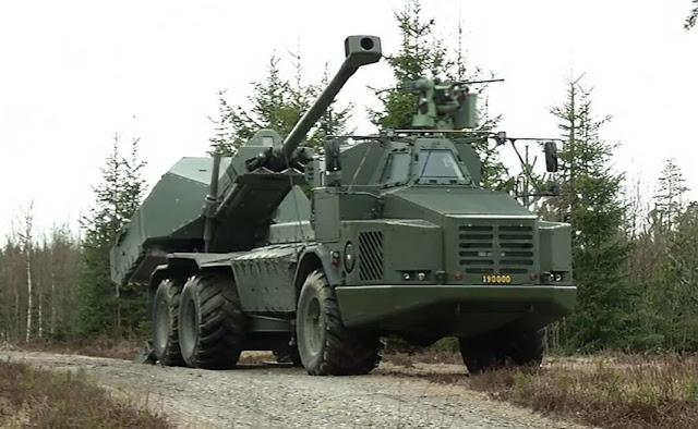 Lựu pháo Archer của BAE Systems