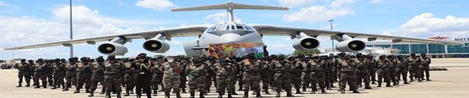 India, Sri Lanka To Begin 12-Day Joint Military Exercise