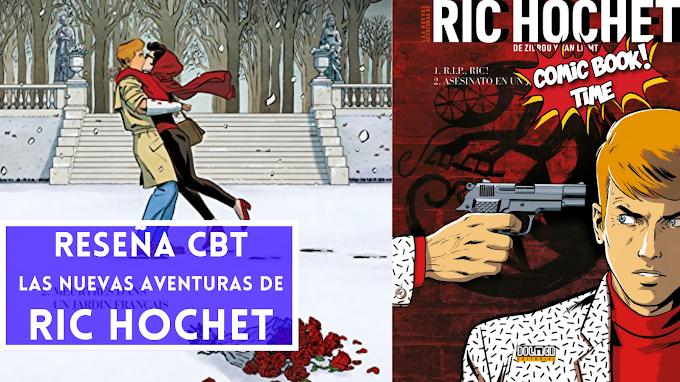 """""""Las nuevas aventuras de Ric Hochet"""", de Zidrou y Van Liemt"""