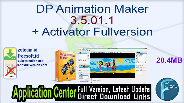 DP Animation Maker 3.5.01.1 + Activator Fullversion